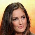 "Minka Kelly of the television show ""Charlie's Angels"" speaks during the Disney ABC Television Group portion of the 2011 Summer Television Critics Association Press Tour held at The Beverly Hilton Hotel, Beverly Hills, on August 7, 2011"
