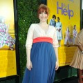 Bryce Dallas Howard shows off her baby bump at the premiere of &#8220;The Help&#8221; in Beverly Hills, Calif. on August 9, 2011 
