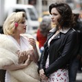 Megan Hilty as Ivy Bell and Katharine McPhee as Karen in &#8220;Smash&#8221; on NBC