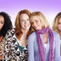 "Aisha Dee as Mackenzie, Katie Finneran as Nikki, Jaime Pressly as Annie and Kristi Lauren as Sophie in ""I Hate My Teenage Daughter"" on FOX"