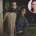 "Paul Rudd and Rashida Jones in ""Our Idiot Brother."" Inset: Natalie Portman"