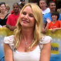Nicollette Sheridan stops by Access Hollywood Live on August 11, 2011 