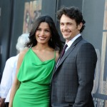 "Freida Pinto and James Franco arrive at the premiere of ""Rise of the Planet of the Apes"" at Grauman's Chinese Theatre in Los Angeles, Calif. on July 28, 2011"