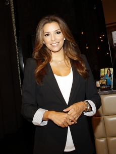 Eva Longoria dines at Beso restaurant at Crystals in CityCenter in Las Vegas on July 27, 2011
