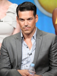 Eddie Cibrian speaks during &#8220;The Playboy Club&#8221; panel during the NBC Universal portion of the 2011 Summer TCA Tour held at the Beverly Hilton Hotel, Beverly Hills, on August 1, 2011
