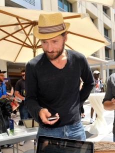 Nikolaj Coster-Waldau attends WIRED Cafe at Palm Terrace At The Omni Hotel, San Deigo, July 21, 2011