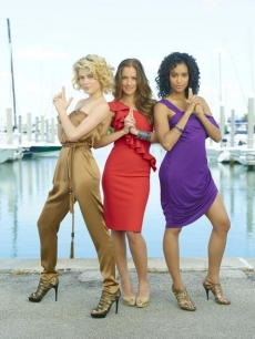 "The cast of ABC's ""Charlie's Angels"""