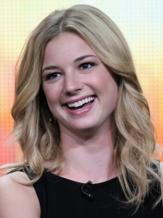 "Emily VanCamp of the television show ""Revenge"" speaks during the Disney ABC Television Group portion of the 2011 Summer Television Critics Association Press Tour held at The Beverly Hilton Hotel, Beverly Hills, on August 7, 2011"