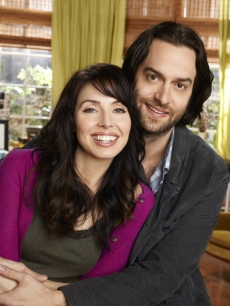 "Whitney Cummings as Whitney and Chris D'Elia as Alex in ""Whitney"" on NBC"