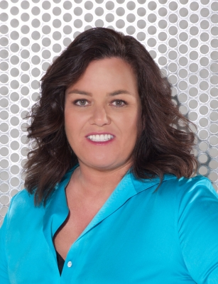 Rosie O&#8217;Donnell in a promotional photo for her Oprah Winfrey Network Show &#8212; &#8220;The Rosie Show&#8221; 