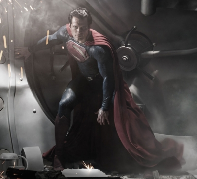 Henry Cavill as Superman in &#8220;Man Of Steel&#8221;