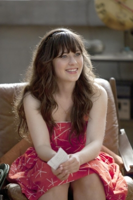 "Zooey Deschanel as Jess in ""New Girl"" on FOX"