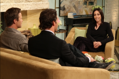 TV personality Heidi Fleiss visits Access Hollywood Live on July 27, 2011