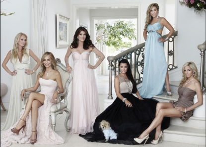 "The women of Season 2 of ""The Real Housewives of Beverly Hills,"" Kim Richards, Taylor Armstrong, Lisa Vanderpump, Kyle Richards, Adrienne Maloof and Camille Grammer"