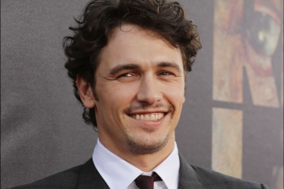 "James Franco arrives at the premiere of ""Rise of the Planet of the Apes"" at Grauman's Chinese Theatre in Los Angeles, Calif. on July 28, 2011"