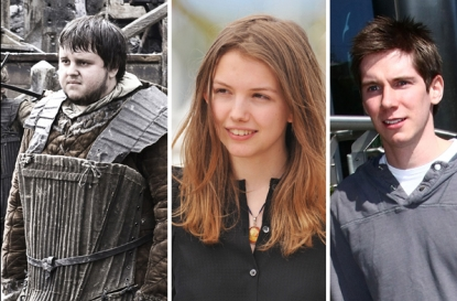"John Bradley West in ""Game of Thrones"" (left), Hanna Murray in Cannes (center), Karl Davies in Dublin (right)"