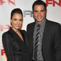 Jessica Alba and Cash Warren attend the 24th Annual Footwear News Achievement Awards at The Museum of Modern Art, NYC, November 30, 2010