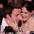 Ben Affleck and Jennifer Garner get close during the 16th annual Critics' Choice Movie Awards at the Hollywood Palladium on January 14, 2011 in Los Angeles