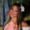 """Jersey Shore's"" Deena Cortese visits Planet Hollywood Times Square in New York City on August 24, 2011"