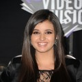 Rebecca Black arrives at the 2011 MTV Video Music Awards at Nokia Theatre L.A. LIVE in Los Angeles on August 28, 2011