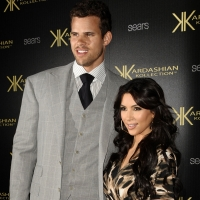 krKris Humphries and Kim Kardashian attend the Kardashian Kollection launch party at The Colony in Hollywood, Calif. on August 17, 2011 