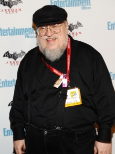 George R.R. Martin arrives at Entertainment Weekly's 5th Annual Comic-Con Celebration sponsored by Batman: Arkham City held at Float, Hard Rock Hotel San Diego on July 23, 2011