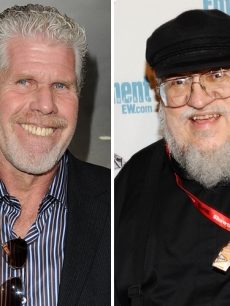 Ron Perlman, George R. R. Martin