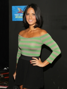 Olivia Munn is seen at the 2011 VH1 Do Something Awards at the Hollywood Palladium in Hollywood, Calif. on August 14, 2011