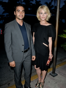 &#8220;Charlie&#8217;s Angels&#8221; stars Ramon Rodriguez and Rachael Taylor co-host the opening reception for The Art Of Robert Zuckerman retrospective photography exhibition at Betsy Hotel in Miami Beach, on August 14, 2011