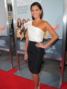 "Olivia Munn goes glam at the the premiere of ""Our Idiot Brother"" on August 16, 2011 in Los Angeles"
