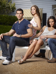 "Jesse Metcalfe, Julie Gonzalo, Jordana Brewster and Josh Henderson in TNT's ""Dallas"""
