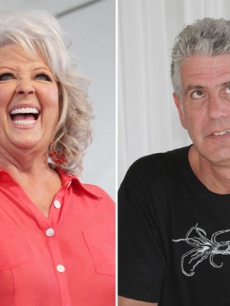 Paula Deen and Anthony Bourdain