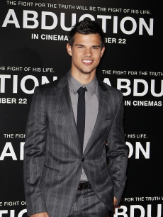 "Taylor Lautner arrives at the ""Abduction"" Sydney premiere at Hoyts Cinemas, Sydney, Australia, on August 23, 2011"