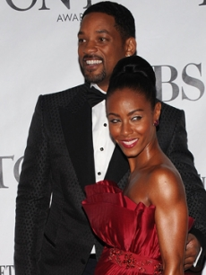 Will Smith and Jada Pinkett-Smith make a night of it at the 64th Annual Tony Awards at Radio City Music Hall in NYC on June 13, 2010