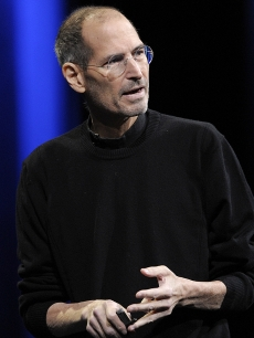 Steve Jobs in San Francisco, June 6, 2011