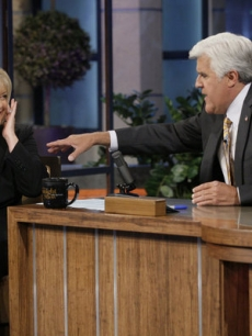 "Nancy Grace appears on ""The Tonight Show with Jay Leno,"" July 15, 2011"