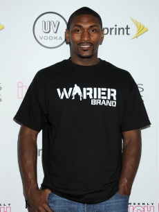 Basketball player Ron Artest arrives at the In Touch Weekly's 4th Annual Icons & Idols Celebration, Hollywood, on August 28, 2011