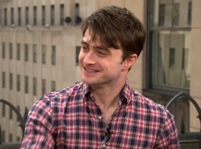 Daniel Radcliffe visits Access Hollywood Live in New York City