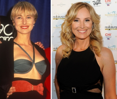 Chynna Phillips in 1990 (left) and in 2010 (right)