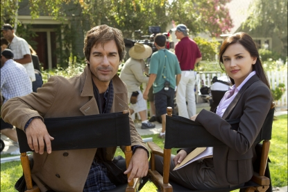 Eric McCormack and Rachael Leigh Cook begin production on &#8220;Perception&#8221; for TNT