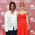 Al Pacino and Jessica Chastain pose at the 'Wild Salome' Photocall during the 68th Venice International Film Festival at Palazzo del Casino in Venice, Italy, on September 4, 2011