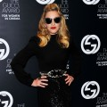 Madonna attends the 2011 GUCCI Award For Women In Cinema at Hotel Cipriani on September 2, 2011 in Venice, Italy