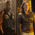 Nelsan Ellis as Lafayette and Fiona Shaw as Marnie