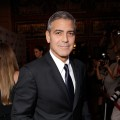 George Clooney arrives at 'The Descendents' premiere at The Elgin during the 2011 Toronto International Film Festival in Toronto on September 10, 2011