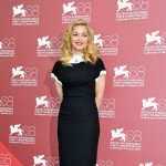 "Madonna is seen during the ""W.E."" photocall at the Palazzo Del Cinema during the 68th Venice Film Festival in Venice, Italy on September 1, 2011"