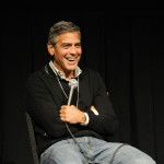 George Clooney receives the Silver Medallion at the 38th Telluride Film Festival in Telluride, Colorado, on September 3, 2011