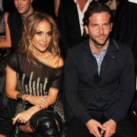 Jennifer Lopez and Bradley Cooper attend the Tommy Hilfiger Spring 2011 Men's and Women's show during Mercedes-Benz fashion week at Lincoln Center in New York City on September 12, 2010