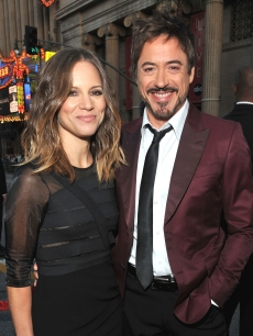 "Susan Downey and Robert Downey Jr. arrive at ""The Hangover Part II"" Los Angeles premiere at Grauman's Chinese Theatre in Hollywood, Calif. on May 19, 2011"