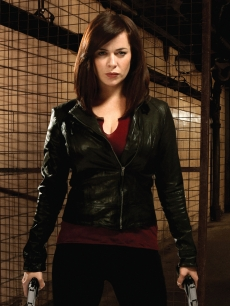 Eve Myles as Gwen Cooper on &#8220;Torchwood: Miracle Day&#8221;