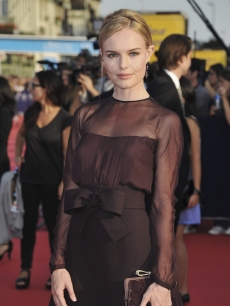 Kate Bosworth arrives at the opening ceremony of the 37th Deauville American Film Festival, Deauville, France, on September 2, 2011